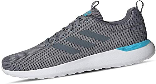 Adidas Lite Racer CLN, Zapatillas para Correr Hombre, Grey/Onix/Bright Cyan, 42 EU