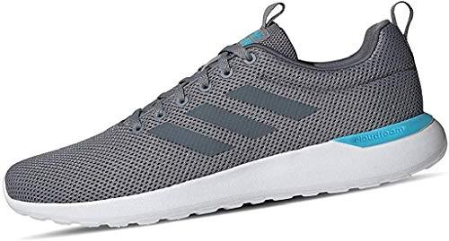 adidas Lite Racer Cln, Men's Running Shoe, GRAY / ONIX / BRIGHT CYAN, 8 UK...