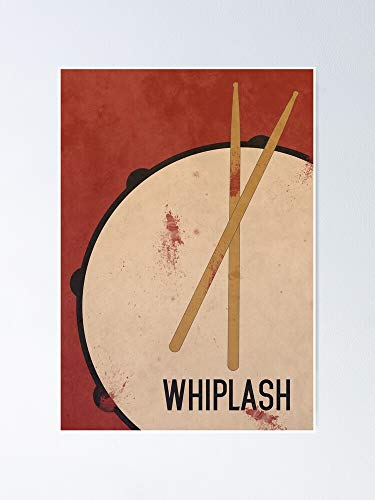 MCTEL Whiplash Poster 11.7x16.5 Inch Frame Board for Office Decor, Best Gift Dad Mom Grandmother and Your Friends