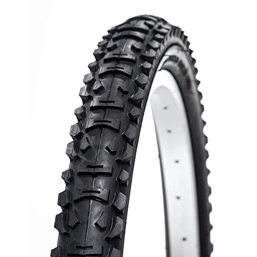 TCD 26 x 1.95 Value MTB Hybrid Bicycle Tyre Mixed Terrain Tread - Black