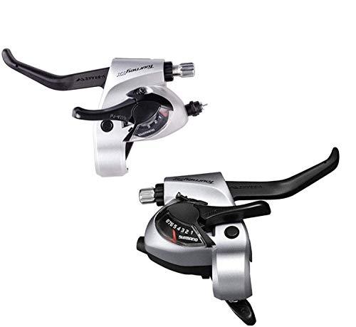 Shimano Cambio Maneta de Freno Tourney Tx ST-TX800 Derecho/Izquierda Plata