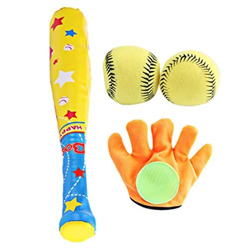 TOYANDONA 1 Set von 4Pcs Kinder Baseball Satz Training Kreative Spaß Im Freien Safe Interaktive Baseball Eltern- Kind Im Freien Interaktive Spiele für Kinder