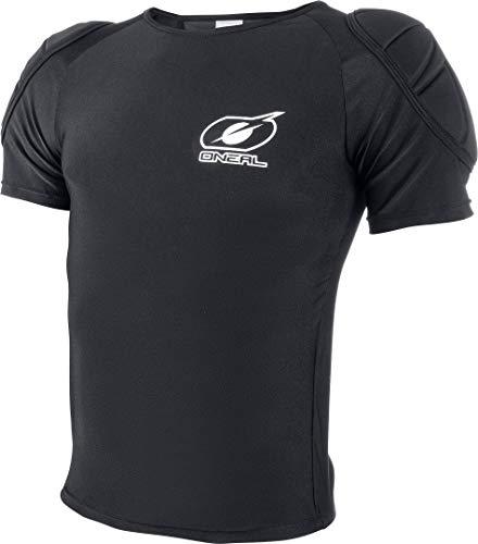 O'NEAL | Protektoren-Shirt | Motocross Enduro Mountainbike | Leichtes & kompaktes Shirt, Geprägter Rückenschutz, Leichtes Nylon-Material | Impact Lite Protector Hemd | Erwachsene | Schwarz | Größe XL