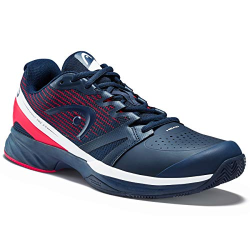 HEAD Herren Sprint Pro 2.5 Clay Men Tennisschuh, Dark Blue/neon red, 44 EU