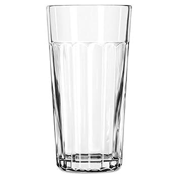 Libbey 15645 Duratuff Panel Tumbler Glass 24 Ounce  15645LIB  Category  Iced Tea and Soda Glasses