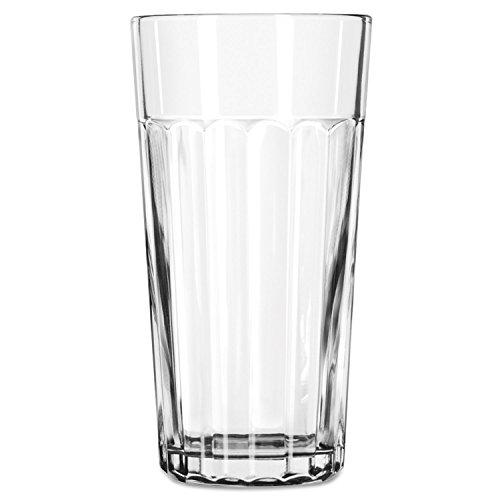 Libbey 15645, Duratuff Panel Tumbler Glass, 24 Ounce (15645LIB) Category: Iced Tea and Soda Glasses