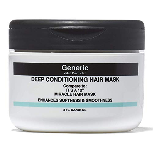 Generic Value Products Deep Conditioning Hair Mask Compare to 10 Miracle Hair Mask