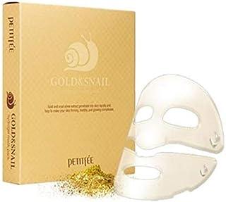 [Petitfee] Gold & Snail Mask Sheet 5 sheets/K-Beauty