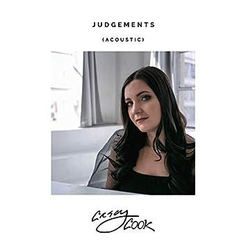 Judgements (Acoustic)