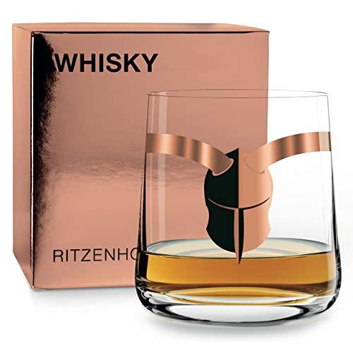 RITZENHOFF Next Whisky Whiskyglas von Houmayoun Mahmoudi, aus Kristallglas, 250 ml