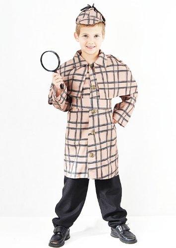 Sherlock Holmes pour Costume Déguisement de détective 7–10 ans