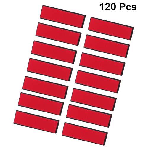 milisten Veiligheidsspeld Pin Zelfklevende Broche Pin Werknemer Id-Badge Crafting Naamplaatjes Pinnen Onderdelen Voor Diy Ambachten Levert Zwart 120St