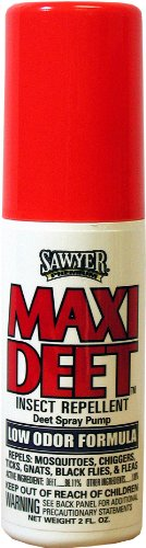 Sawyer Products SP719 Premium Maxi-DEET Insect Repellent, Pump Spray, 2-Ounce