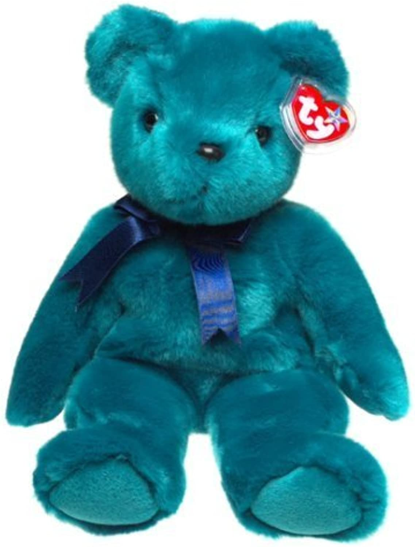 Ty Beanie Buddies  Teddy Old Face by Beanie Buddies