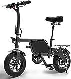Bicicleta eléctrica Bicicleta eléctrica por la mon Bicicleta eléctrica plegable mini portátil híbrido eléctrico bicicleta adulta Pequeño movilidad eléctrica de la batería de litio Booster para los sen