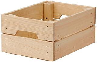 comprar comparacion Ikea 102.923.57 KNAGGLIG-Caja de madera de pino maciza (23 x 31 x 15 cm), Na
