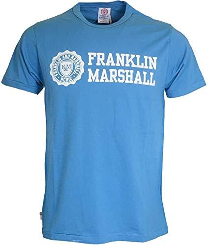 Franklin & Marshall – Camiseta – Hombre Azul X-Small XS