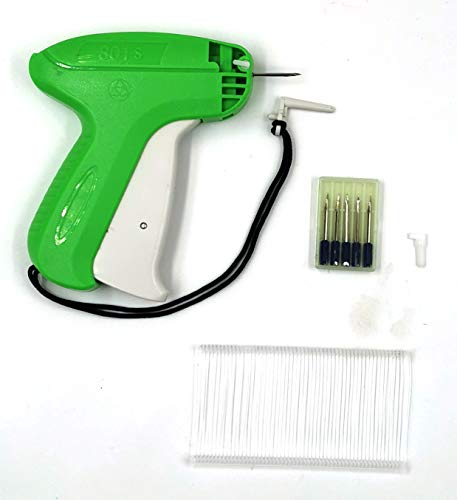 Tagging Gun for Clothing, Clothing Garment Price Label Tagging Tag Gun, Kit Includes 6 Needles & 1000pcs Barbs Fasteners