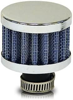 Ractive Mini Blue Cone Filter (Chrome Top & Bottom)