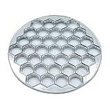 GAKIN Molde para albóndigas de tofu, 37 agujeros, para hacer albóndigas, comercial, para hornear metal, 1 unidad