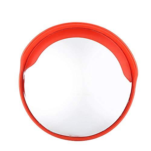 Specchio Convesso di Sicurezza, Specchio Panoramico Specchietto stradale, Specchio convesso da traffico,diametro 30/45/60 cm, per la sicurezza stradale e la sicurezza negozio (45CM)