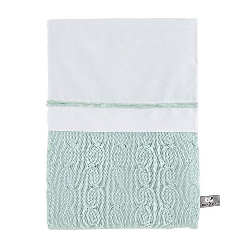 BO Baby's Only - Funda nórdica Cable - Mint - 100x135 cm
