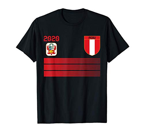 Camiseta de futbol de Perú 2020 Futbol de Perú Camiseta