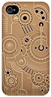 SwitchEasy SW-CW4S-BZ Avant-garde Hard Case for iPhone 4 & 4S - 1 Pack - Case - Retail Packaging - Clockwork - Bronze