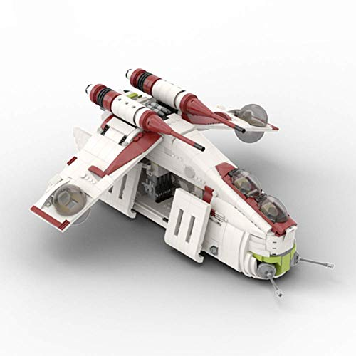 1707 PCS Bloque de construcción Bloque Galáctico República Armada Spaceship, rompecabezas Técnica Técnica Super Racing RC Coche Kit, Modelo Bloques de construcción compatible con, Ladrillos de juguete