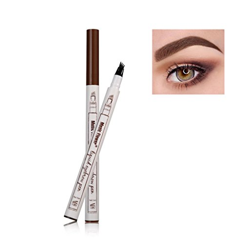 Frola - Lápiz de cejas resistente al agua/manchas de gel de ceja de larga duración para maquillaje de ojos