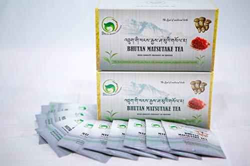 Bhutan Matsutake Tea - 25 Tea Bags x 2 Boxes