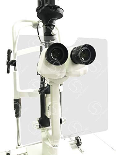 SL-B3 Universal Slit Lamp Breath Shield Acrylic Large Shield 8 1/2' x 7 7/8'