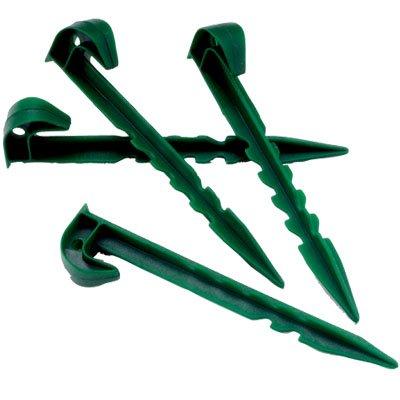 5starwarehouse ® 10 X Piquets de jardin en plastique Vert Taille L Multi Usage mauvaises herbes en polaire Formes