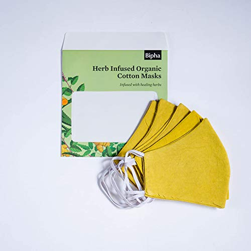 Herb Infused Organic Cotton Masks