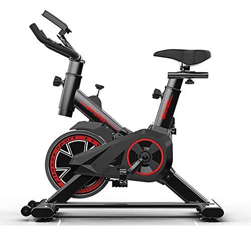 Wghz Heimtrainer Fahrrad, stationäre Fahrräder Cardio-Workout-Maschine aufrechtes Fahrrad Riemenantrieb Spinnrad