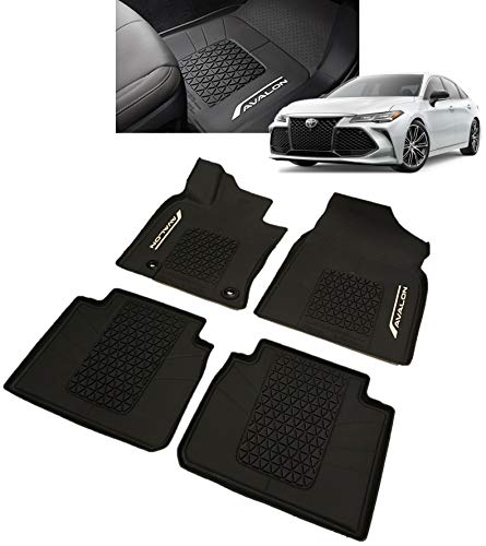 Toyota Genuine Avalon All-Weather Floor Liners. Black 4 Piece Set. 2019 Avalon & Avalon Hybrid