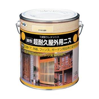 アサヒペン 超耐久屋外用ニス 1.8L 透明(クリヤ)