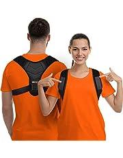 Correcteur de posture pour homme et femme, orthèse du haut du dos pour le soutien de la clavicule, lisseur du dos réglable et soulage la douleur du cou, du dos et des épaules, approuvé par la FDA