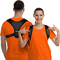 Gearari Posture Corrector For Men And Women with Adjustable Back Straightener And Providing Pain Relief From Neck, Back & Shoulder (Universal) (Regular)