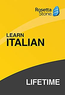 Rosetta Stone: Learn Italian with Lifetime Access on iOS, Android, PC, and Mac – mobile & online access (B07HGQ4NFS) | Amazon price tracker / tracking, Amazon price history charts, Amazon price watches, Amazon price drop alerts