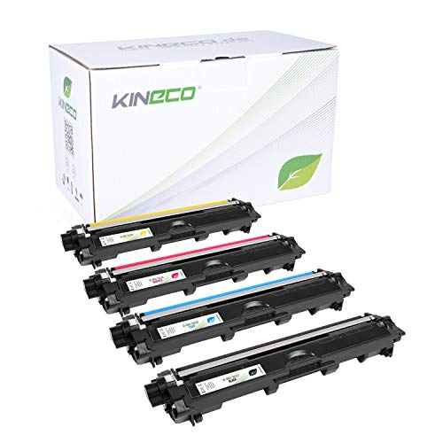 Kineco 4 Toner kompatibel für Brother TN-241 TN-245 für Brother MFC-9142CDN 9342CDW...