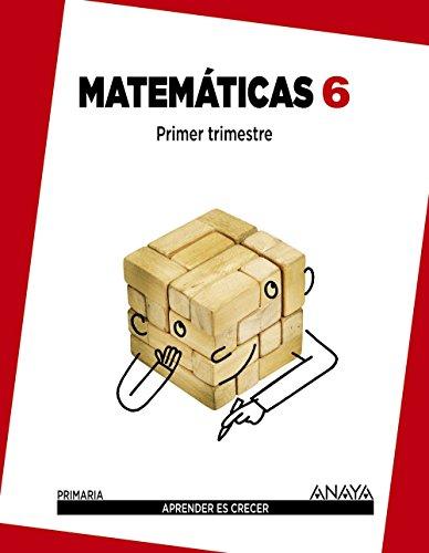 Matemáticas 6. (Aprender es crecer) - 9788467833119