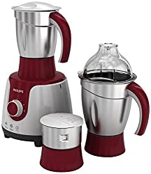 Philips HL 7720 750-Watt Mixer Grinder with 3 Jars (Multicolour)