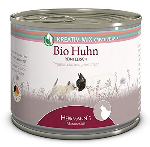 Herrmanns bio pure chicken kattenvoer 200 GR