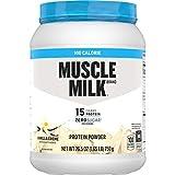 Muscle Milk 100 Calorie Protein Powder, Vanilla, 15g Protein, 1.65 Pound, 25 Servings