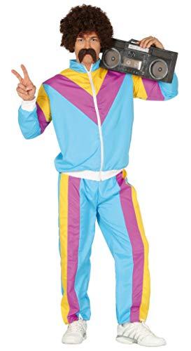 Guirca Sportler Kostüm für Herren - Größe M-L - Fasching Karneval, Größe:L