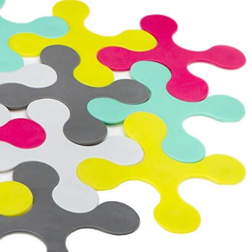 PRINCE LIONHEART - Tapis de bain puzzle multicolore Bath Mat de
