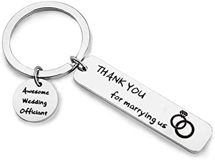 MAOFAED Wedding Officiant Gift Officiant Thank You Gift Thank You for Marrying Us Officiant product image
