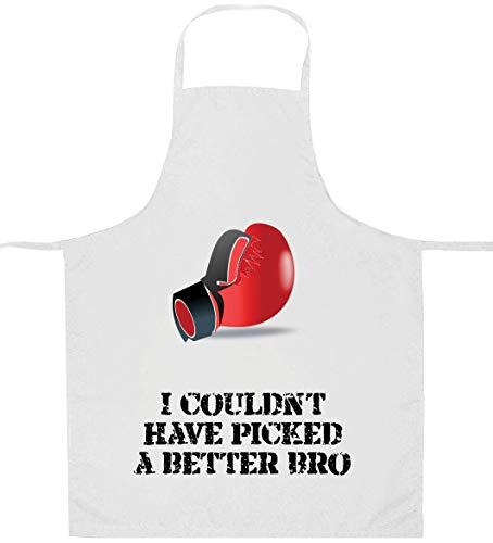 I Couldn't Have Picked A Better Bro Boxhandschuhe Herren Schürze - personalisierbar - apd17
