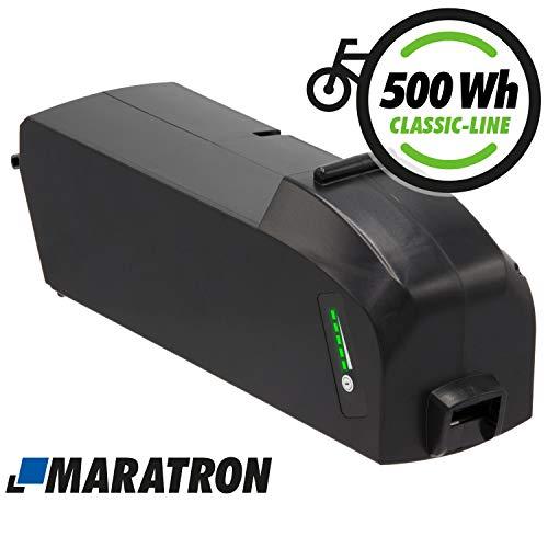 Maratron Ersatz-Akku für Bosch PowerPack Classic+ 500 Rahmenakku E-Bike Pedelec Akku von GTE